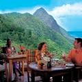 Saint Lucia - Couples Dining Out. Photo Credit: ©St Lucia Tourist Board.