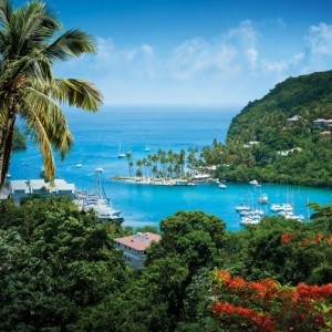 Saint Lucia - Marigot Bay. Photo Credit: ©Saint Lucia Tourist Board.