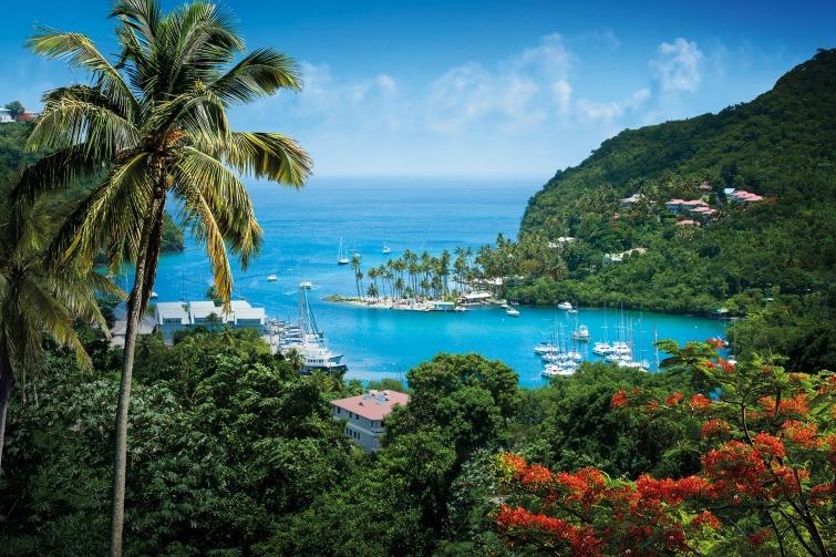 Saint Lucia - Marigot Bay. Photo Credit: ©Saint Lucia Tourist Board.