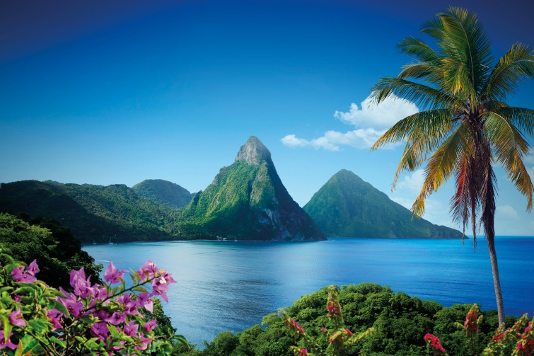 Saint Lucia - Two Pitons. Photo Credit: ©Saint Lucia Tourist Board.