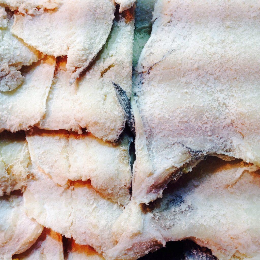 Recipe for national dish of jamaica ackee saltfish for Jamaican salt fish