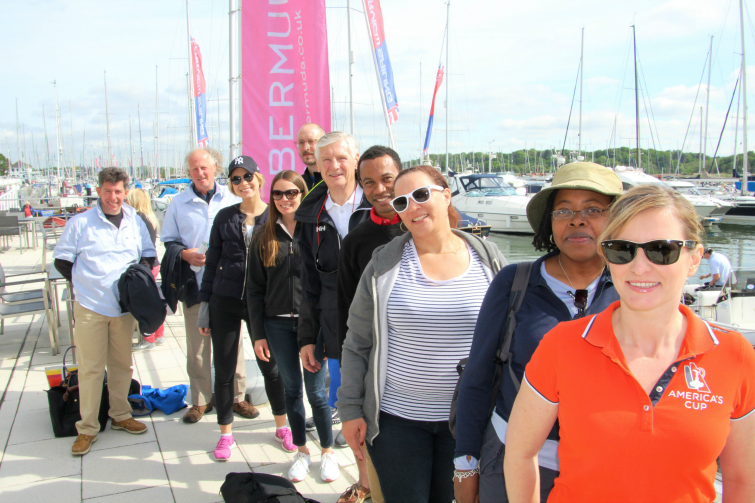 35th America's Cup - Bermuda Learn To Sail event in Southampton. Photo Credit: @TravelMole.