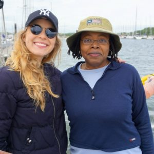 Bermuda Learn To Sail event in Southampton - Kat Caprice & Ursula Barzey. Photo Credit: ©Kat Caprice.