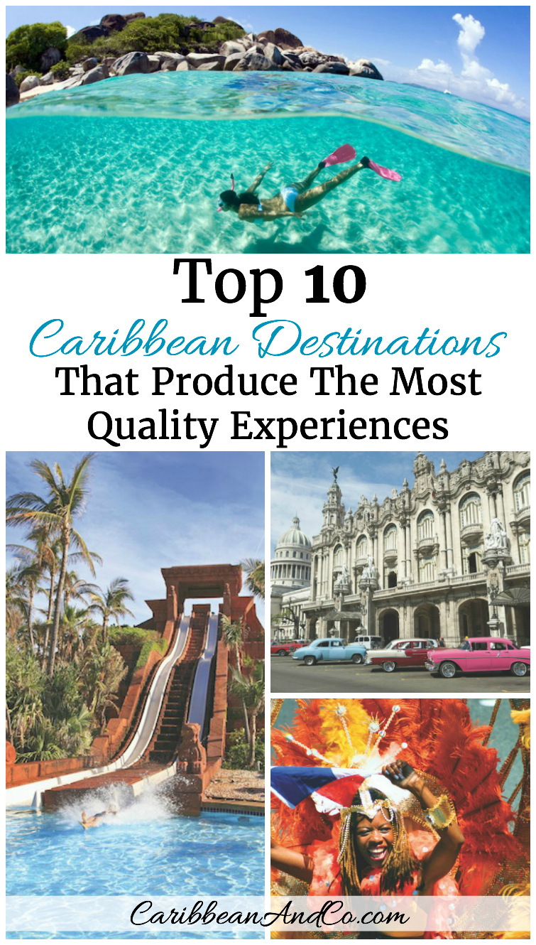 Top 10 Caribbean Destinations That Produce The Most