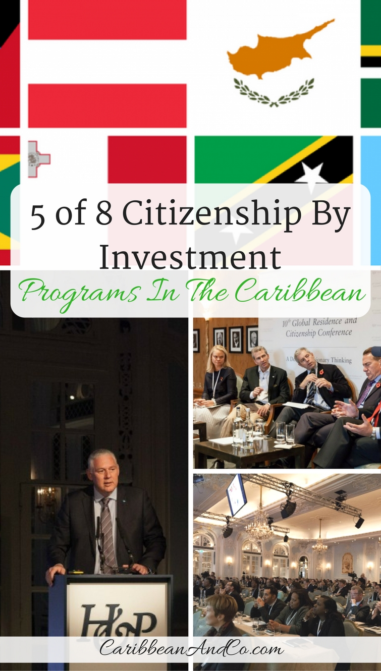 Did you know that 5 of 8 current Citizenship By Investment Programs In The Caribbean?  Check them out if you are interested in securing a second passport.