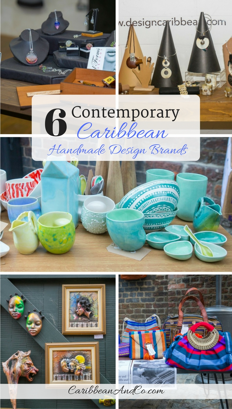 If you are looking for a unique birthday, anniversary or holiday gift, consider purchasing from one of the six contemporary Caribbean handmade design brands that recently showcased their eclectic mix of hand-crafted products and chic gifts at Design Caribbean's pop-up shop in London's Camden Market.