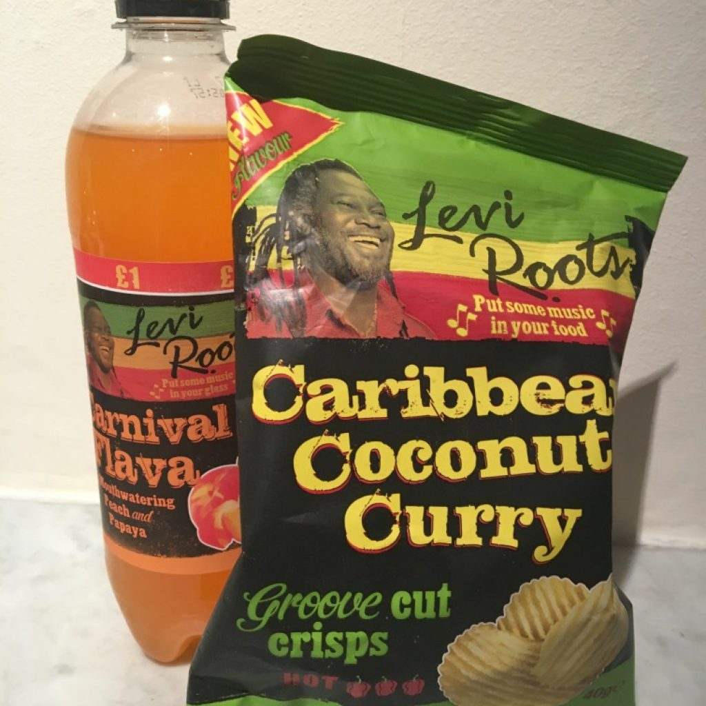 Levi Roots - Caribbean Coconut Curry Chips