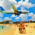 St. Maarten: Maho Beach. Photo Credit: © Solarisys / Adobe.