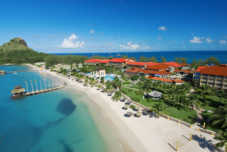 Sandals Grande St. Lucian Aerial