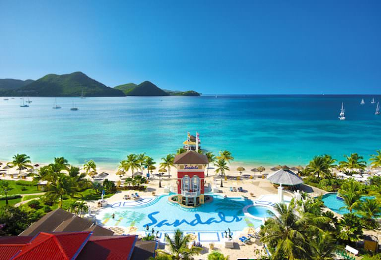 Sandals Grande St. Lucian Main Pool