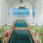 Sandals Grande St. Lucian: Interior of Over The Water Serenity Chape
