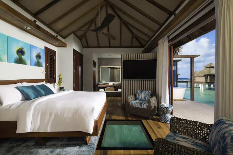 Sandals Resorts: Overwater Bungalow Bedroom