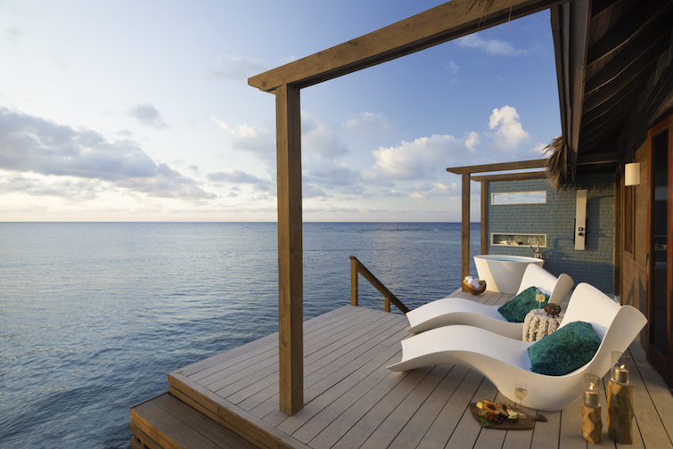 Sandals Resorts: Overwater Bungalow Decking