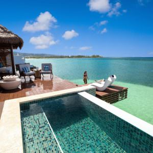 Sandals Resorts: Overwater Bungalow Suite