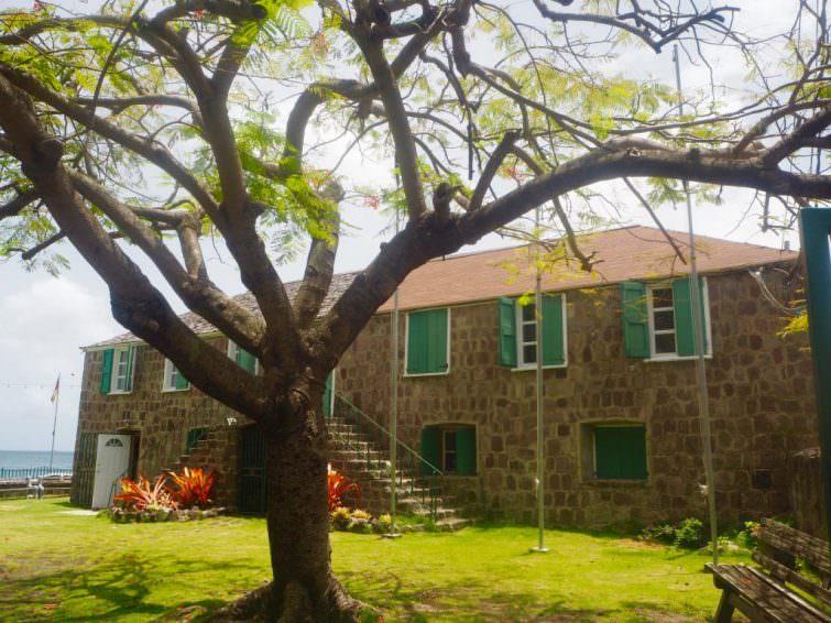 Nevis: Museum of Nevis History, Alexander Hamilton House