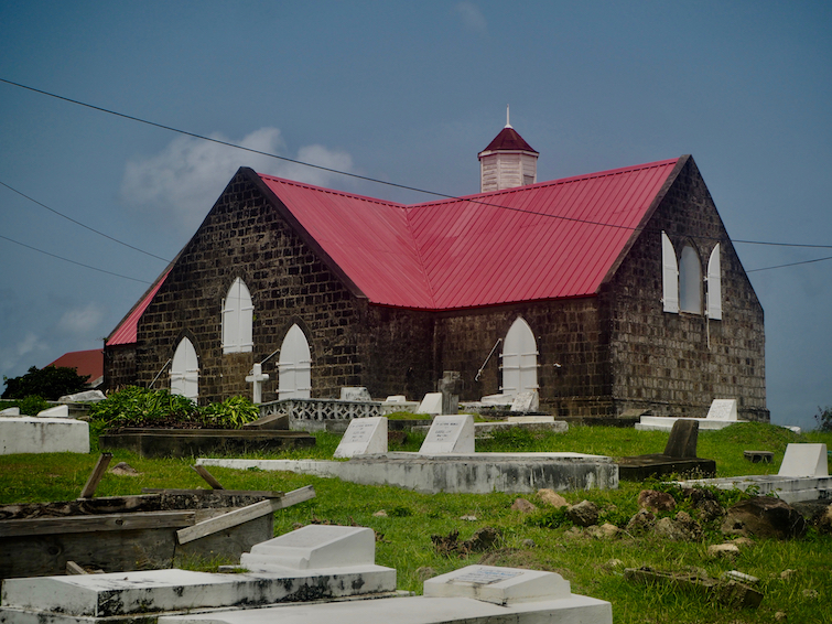 St Thomas Anglican Church in Nevis.