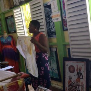 Romeny Manor: Caribelle Batik demonstration.