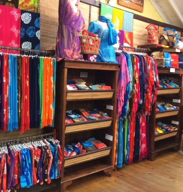 Romney Manor: Caribelle Batik gift shop.
