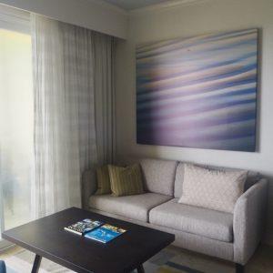 St Kitts Marriott Resort & The Royal Beach Casino: Room 358 Couch.