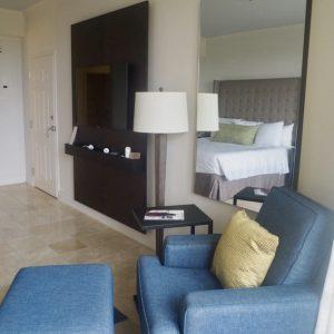 St Kitts Marriott Resort & The Royal Beach Casino: Room 358 Lounge Chair.