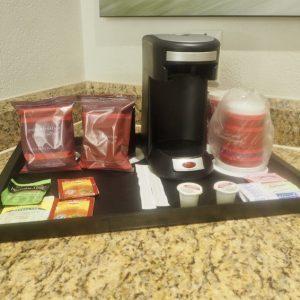 St Kitts Marriott Resort & The Royal Beach Casino: Room 358 - Tea & Coffee.