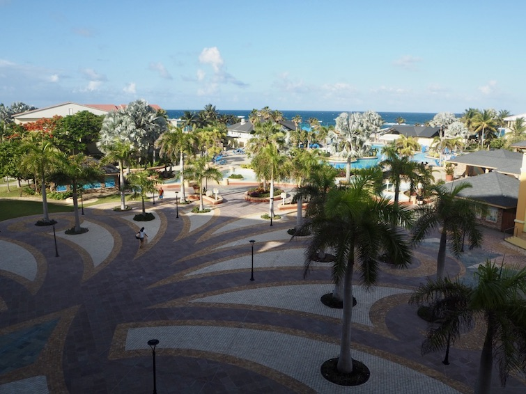 St Kitts Marriott Resort & The Royal Beach Casino: View from Room 358.