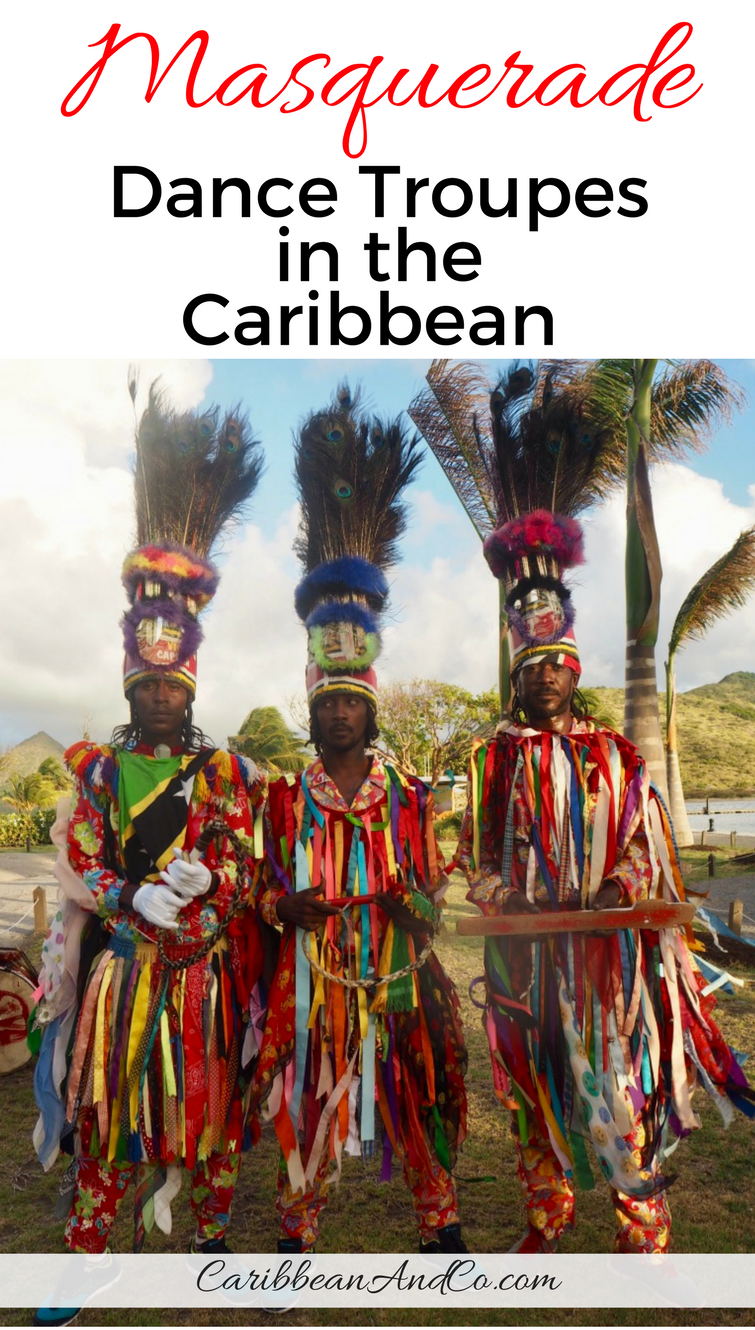 Find out about Masquerade dance troupes in the Caribbean which are a cultural treasure that combines steps from European ballroom with folk dance initially performed in sub-Saharan Africa.