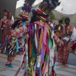 St Kitts: Masquerade Dancers