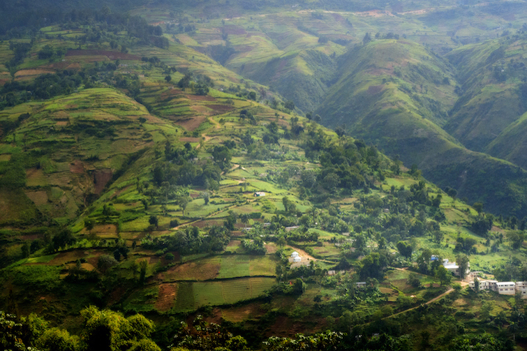Haiti mountain landscape. Photo Credit: ©Ministry of Tourism, Republic of Haiti.