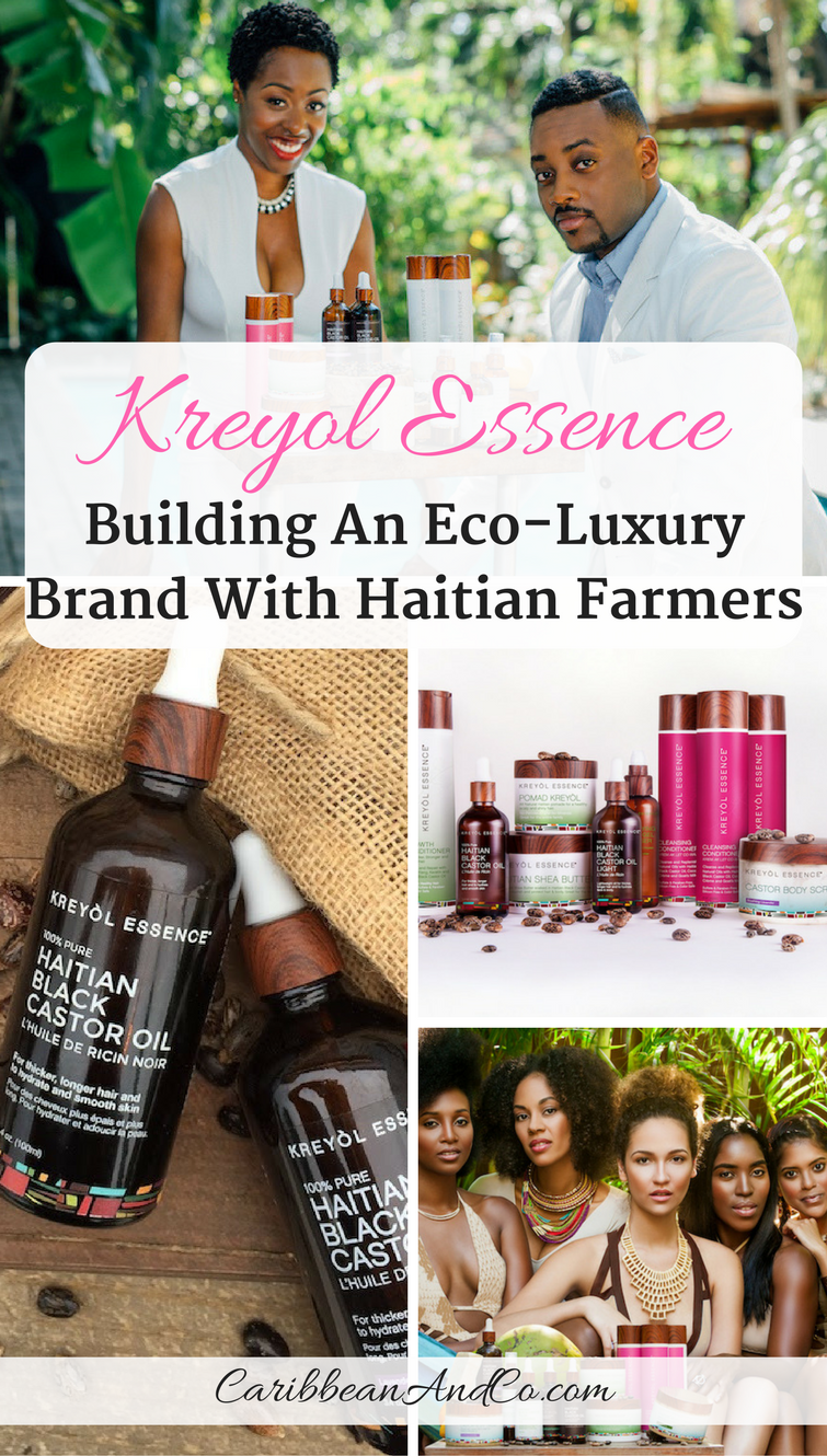 Find out how Kreyol Essence is building an Eco-Luxury brand with Haitian Farmers.