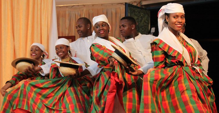 Martinique: The Grand Ballet dancers in traditional dress. Photo Credit: © Antoine Omere via Martinique Tourism Board.
