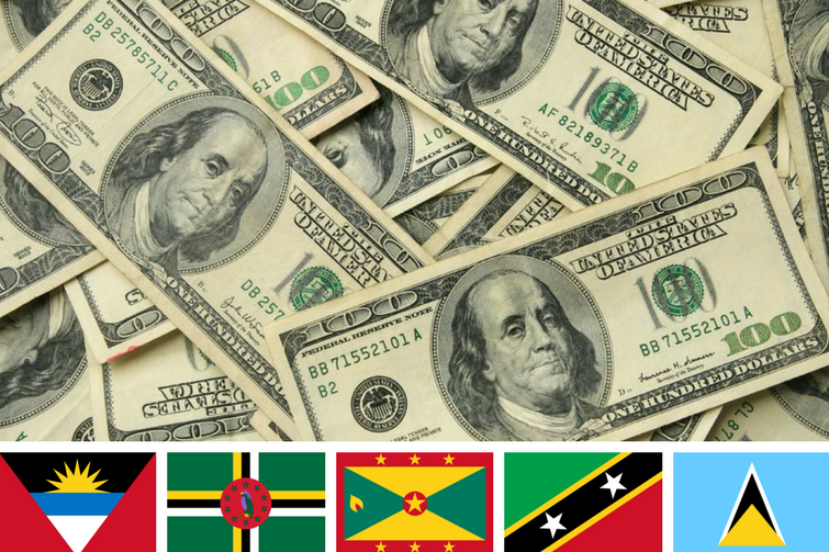Millions of US dollars raised from the Caribbean Citizenship By Investment Programs