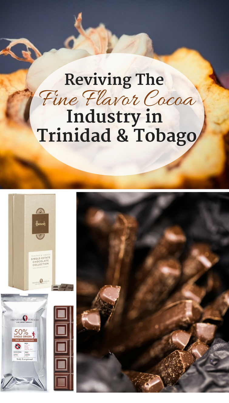 Caribbean fine flavor cocoa is in high demand by the world's elite chocolatiers but it only accounts for 5% of the world production. Find out how the Trinidad & Tobago Fine Cocoa Company is working to meet this demand by creating truly exceptional chocolate products while at the same time working with farmers to increase cocoa production in Trinidad & Tobago.