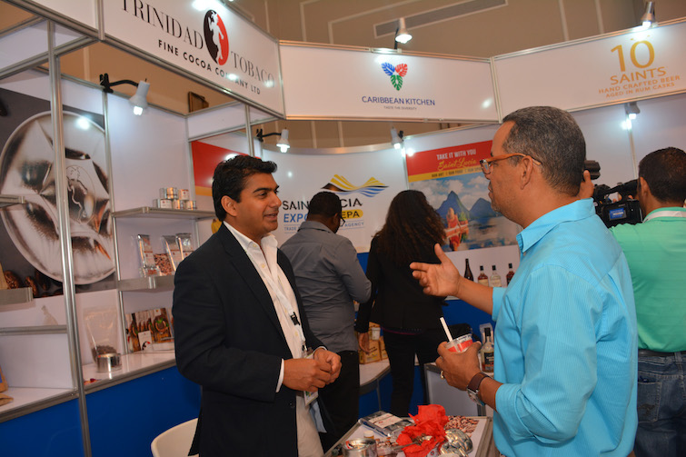 Trinidad Fine Cocoa Company: Ashley Parasram at Agroalimentaria in the Dominican Republic.