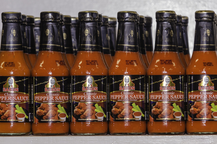 Caribbean Hot Sauce: Baron Foods Classic Pepper Sauce. Photo Credit: © Caribbean Export Development Agency.