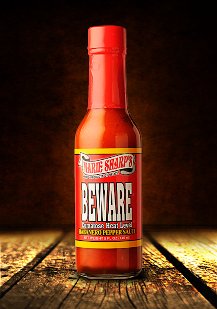 Caribbean Hot Sauce: Marie Sharp's Fine Foods Beware Hot Sauce. Photo Credit: © Caribbean Export Development Agency.