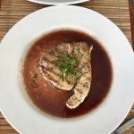 Grenada: BB's Crabback Caribbean Restaurant - Seared Tuna.