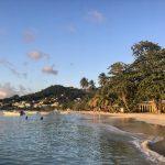 Grenada: Grand Anse Beach early evening.