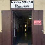 Grenada: Grenada National Museum entrance.