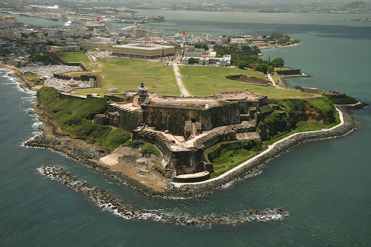 Puerto Rico: 16th-century citadel in San Juan named Castillo San Felipe del Morro. Photo Credit: © Puerto Rico Tourist Board.