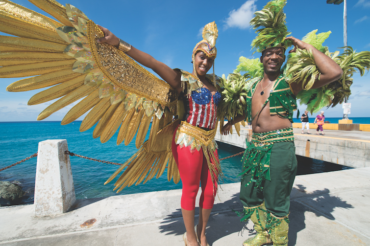 US Virgin Island: Carnival Revelers. Photo Credit: © Gary Felton via US Virgin Island Department of Tourism.