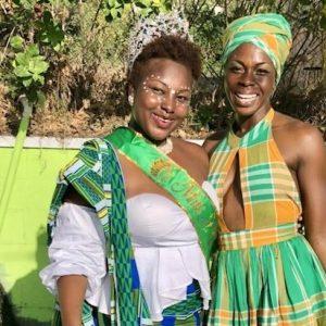 Montserrat: St Patrick's Festival beauty queens during parade. Photo Credit: ©Ursula Petula Barzey.