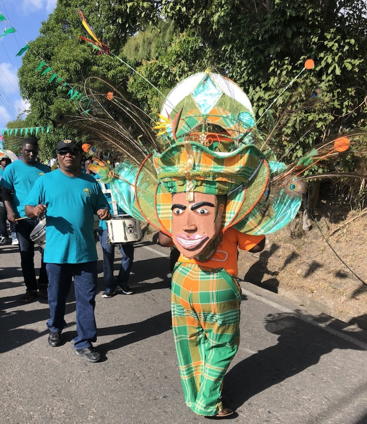 Montserrat: Saint Patrick's Festival - Costume by Kirk Kentish Brade. Photo Credit: © Ursula Petula Barzey.