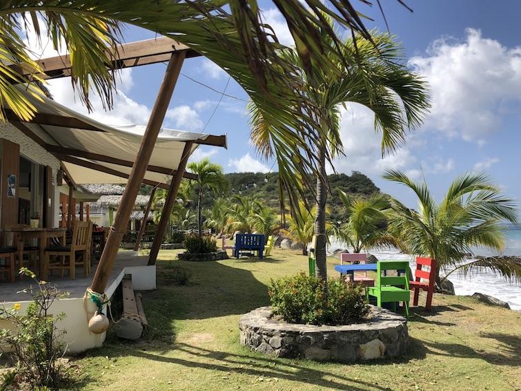 Montserrat: View from Little Bay restaurants. Photo Credit: © Ursula Petula Barzey.