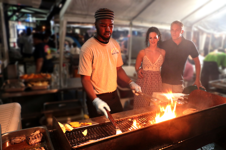Barbados: Oistins Fish Fry. Photo Credit: © Barbados Tourism Marketing.