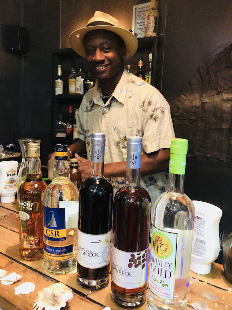 St Kitts: Ian Burrell, Global Rum Ambassador. Photo Credit: © Ursula Petula Barzey.