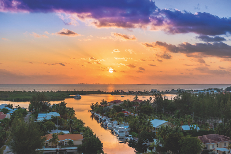 Cayman Islands - Dart Real Estate: Seafire Northsound Sunrise.