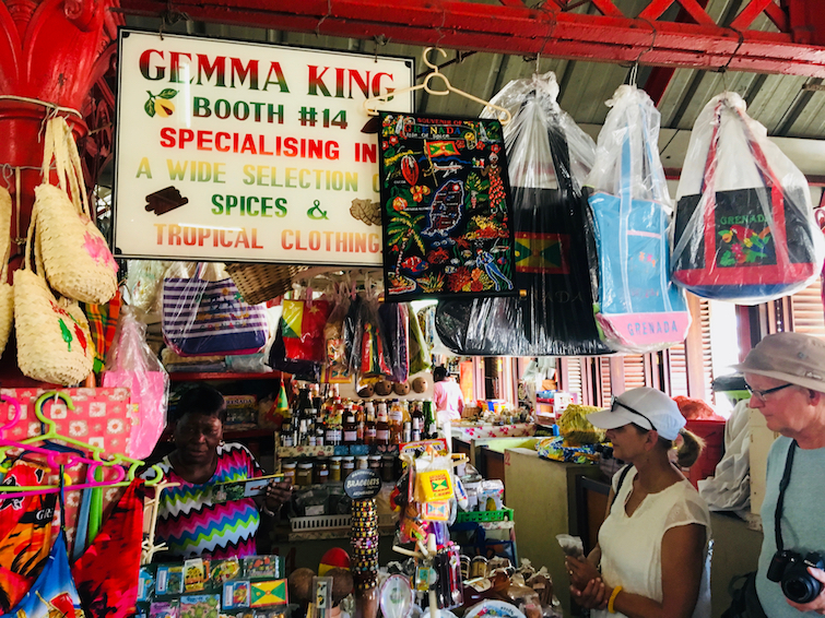 Grenada Spice Market: Gemma King Booth 14.