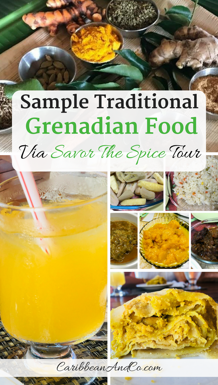 Sample traditional Grenadian food via Savor The Spice culinary tour.