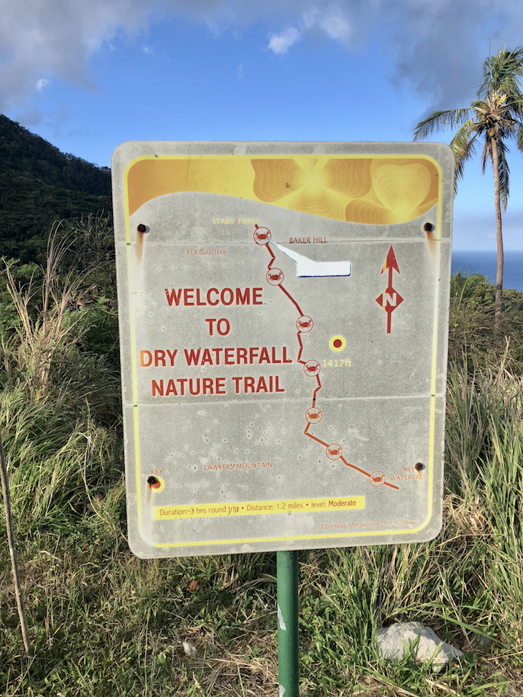 Hiking Montserrat: Dry Waterfall Nature Trail.
